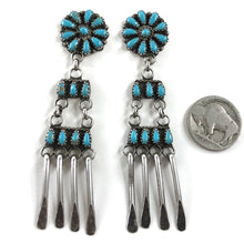 "Load image into Gallery viewer, Vintage Zuni Dangles<br>3.5"" Long!"