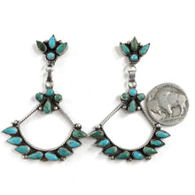 Load image into Gallery viewer, Vintage Chandelier Earrings