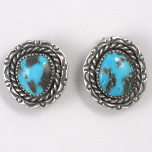 Vintage Kingman Clip Earrings