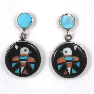Historic Inlay Earrings