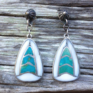 Fresh & Light Vintage Zuni Inlay