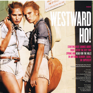 V Magazine Spring Preview2010 Westward Ho!