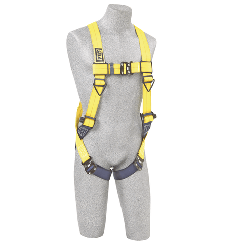 Delta™ Vest-Style Harness quick-connect buckle leg straps