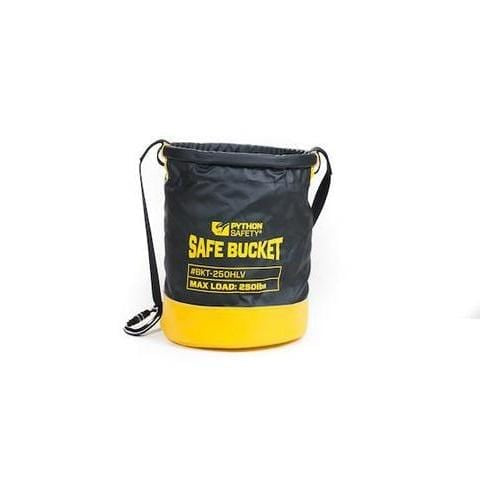Python Safety™ Safe Bucket 100lb Load Rated Drawstring Canvas