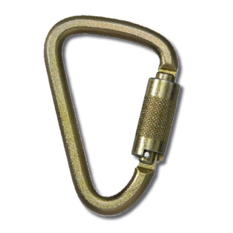 Yoke klettersteig CSA pear-shaped carabiner