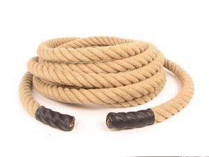 Hemp Training Rope 40mm (1-9/16'') - 100' - Barry Cordage