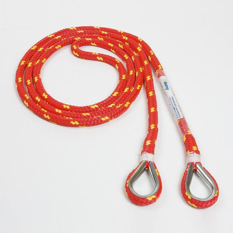 Barry Rescue Floating Red Rope RED 1/2'' X 5' - Barry Cordage
