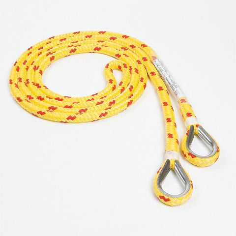 Barry Rescue Floating Yellow Rope 1/2'' X 10' - Barry Cordage