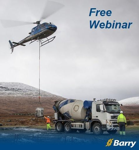 Helicopter Longline - Free Basic Inspection Training Webinar - Barry Cordage