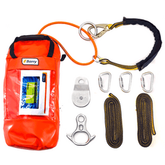 Barry D.E.W. Line® Lineman Rescue Kit with retrievable anchor strap - Barry Cordage