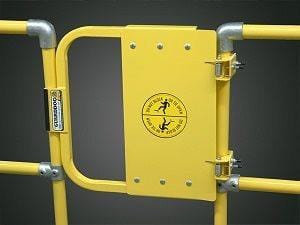 Self-Closing Gates - 21'' Yellow