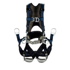 3M™ DBI-SALA® ExoFit™ Plus Comfort-Style Tower Climbing Harness 1140071C, XX-large, blue - Barry Cordage
