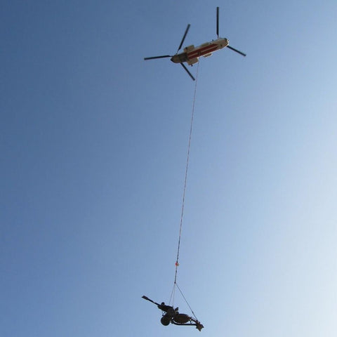 Helicopter Longlines and Slings for Military Operations