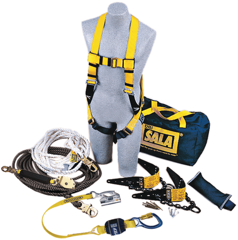 Roofer's Fall Protection Kit - HLL System - Barry Cordage