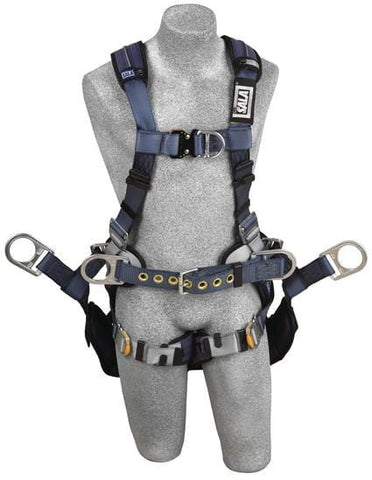 ExoFit™ XP Tower Climbing Harness (size Large) - Barry Cordage