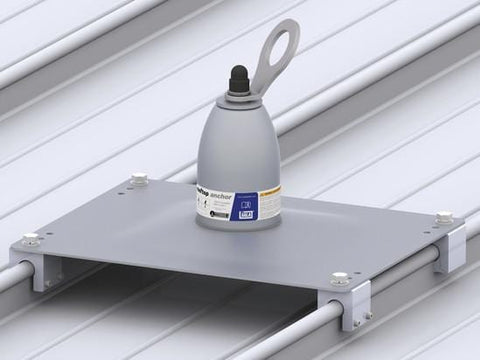 Roof Top Anchor - For Standing Seam Roofs - Barry Cordage