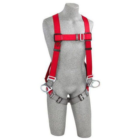 PRO™ Vest-Style Positioning Harness pass-thru buckle leg straps (size Small) - Barry Cordage