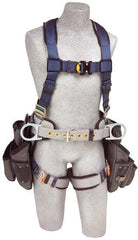 ExoFit™ Construction Style Harness with Tool Pouches (size Small) - Barry Cordage