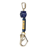 Nano-Lok™ Self Retracting Lifeline with Anchor Hook - Web - Carabiner/Steel Hook
