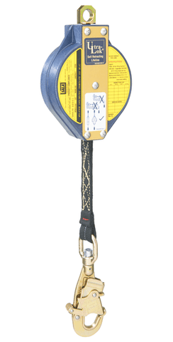 Ultra-Lok™ Self Retracting Lifeline 20 ft. (6.1m) - Nomex®/Kevlar® Web - Barry Cordage