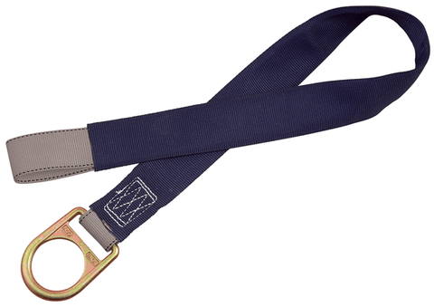 Concrete Anchor Strap 42 in. (1m) - loop/D-ring