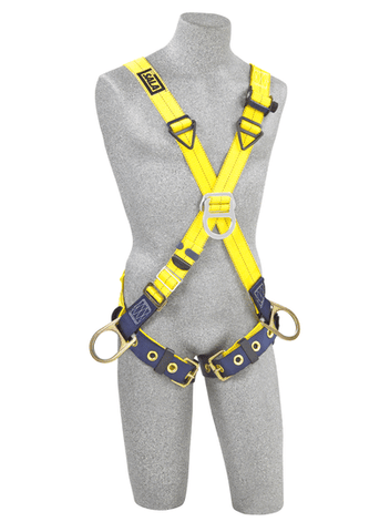 Delta™ Cross-Over Style Positioning/Climbing Harness (size Universal) - Barry Cordage