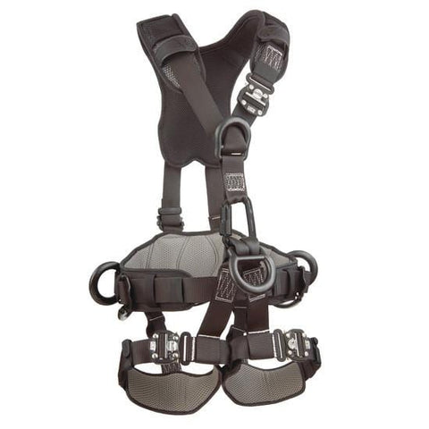 ExoFit NEX™ Rope Access/Rescue Harness - Black-Out (size Large) - Barry Cordage