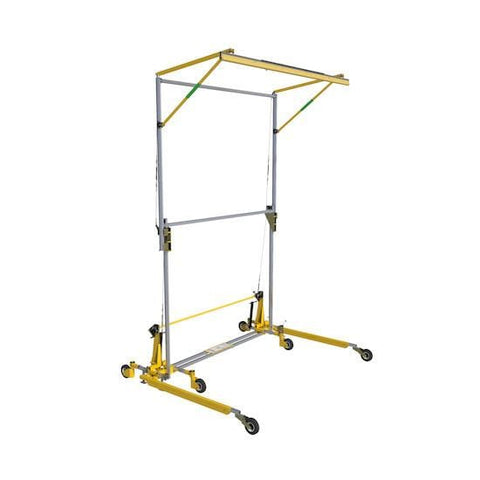 FlexiGuard™ C-Frame System - Adjustable Height 12.5 ft. to 19 ft. (3.8-5.8 m) x 20 ft. (6.1 m) - Barry Cordage