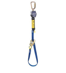 Nano-Lok™ Tie-Back Self Retracting Lifeline - Web - Steel Carabiner - Barry Cordage