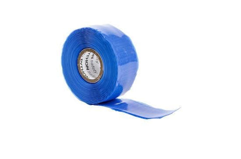 "Python Safety™ Quick Wrap Tape - Blue - 1"" Wide - 2x Length (120 Pack) - Barry Cordage"