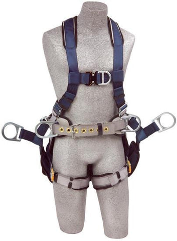 ExoFit™ Tower Climbing Harness (size Medium) - Barry Cordage