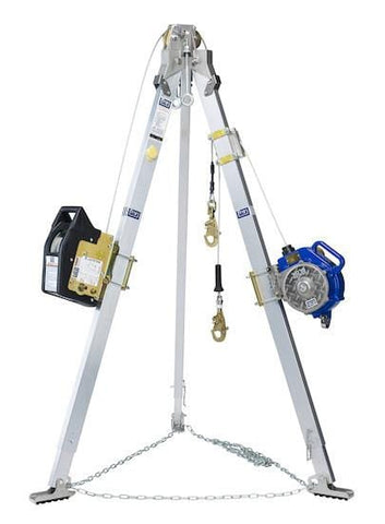 Advanced™ Tripod, Salalift™ II Winch and Sealed-Blok™ 3-Way SRL 7 ft. (2.1 m)