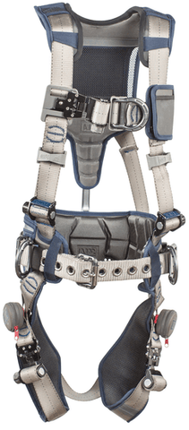 ExoFit STRATA™ Construction Style Positioning/Climbing Harness (size Large) - Barry Cordage