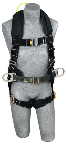 ExoFit™ XP Arc Flash Construction Harness - Dorsal Web Loop (size Large)