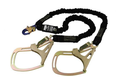 ShockWave™2 Arc Flash 100% Tie-Off Shock Absorbing Lanyard - E4 Class 6 ft. (1.8m) - Barry Cordage