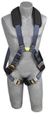 ExoFit™ XP Arc Flash Cross-Over Harness - Dorsal/Front Web Loops (size Small)