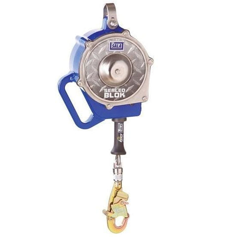 Sealed-Blok™ Self Retracting Lifeline 30 ft. (9.1m) - Galvanized cable - Barry Cordage