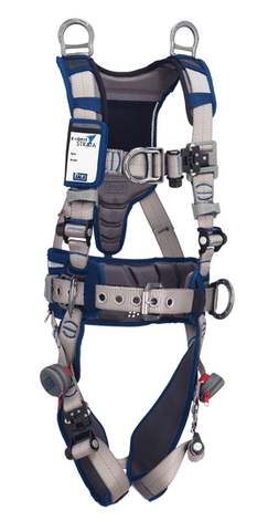 ExoFit STRATA™ Construction Style Positioning/Climbing and Retrieval Harness (size Small) - Barry Cordage