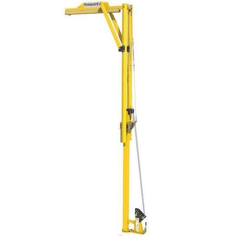 FlexiGuard™ EMU™ Adjustable Height Jib with 13 ft. to 20 ft. (3.9 m to 6.1 m) anchor height - Barry Cordage