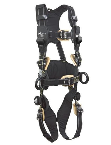 ExoFit NEX™ Arc Flash Construction Style Positioning/Rescue Harness (size Large) - Barry Cordage