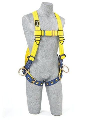 Delta™ Vest-Style Positioning Harness tongue buckle leg straps (size Universal) - Barry Cordage