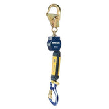 Nano-Lok™ Self Retracting Lifeline with Anchor Hook - Web - Swiveling Aluminum Rebar Hook/Aluminum Carabiner