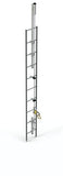 Lad-Saf™ for Fixed Ladder (Bolt-On) - Galvanized 60 ft. (18.3 m)