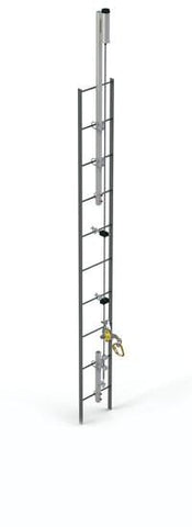 Lad-Saf™ for Fixed Ladder (Bolt-On) - Galvanized 60 ft. (18.3 m) - Barry Cordage