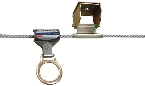 Sayfline™ Permanent Multi-Span Horizontal Lifeline System 140 ft. (42.7m) - Barry Cordage