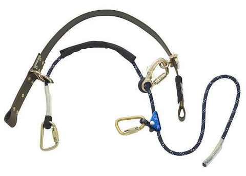 "Cynch-Lok™ Pole Climbing Device - Rope up to 18.5"" dia. (47cm), 58"" circ. (147cm) - Barry Cordage"