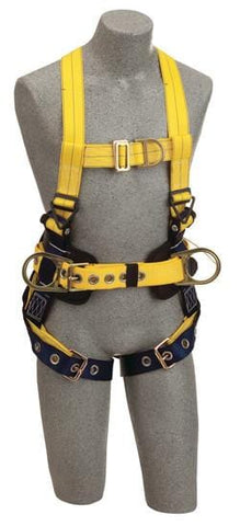 Delta™ Construction Style Positioning/Climbing Harness (size Medium) - Barry Cordage