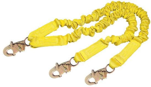 ShockWave™2 100% Tie-Off Shock Absorbing Lanyard - E4 Class - Barry Cordage