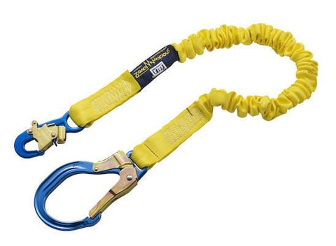 ShockWave™2 Shock Absorbing Lanyard - E6 Class 6 ft. (1.8m) snap hook - Barry Cordage
