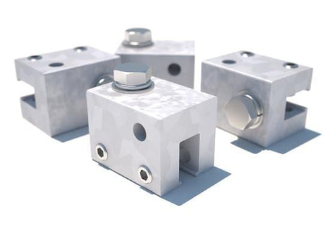 U Maxi Clamp 4-Pack for Standing Seam Roof Top Anchor
